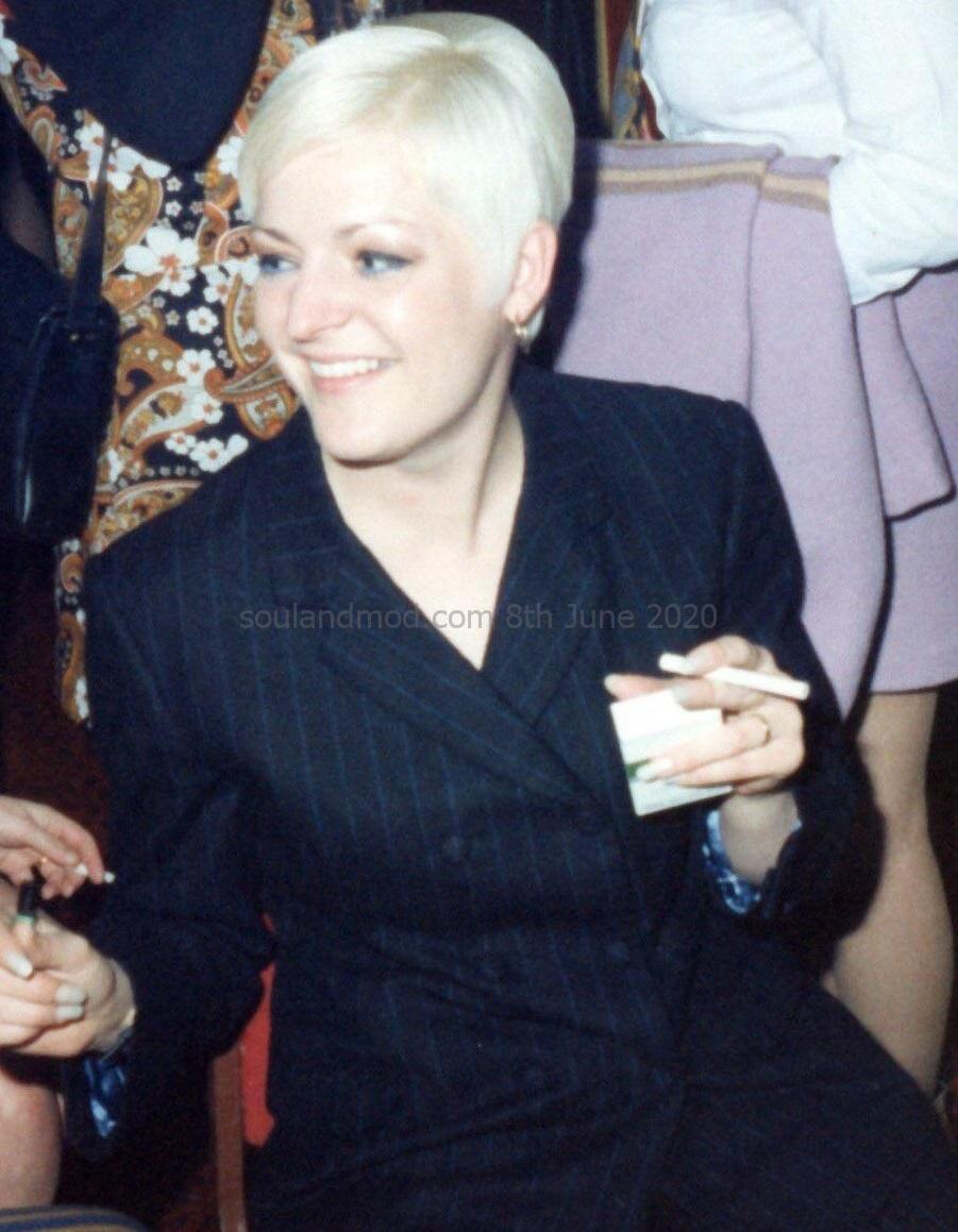Maz Weller - 1990s Mod Girl. Taken 1993