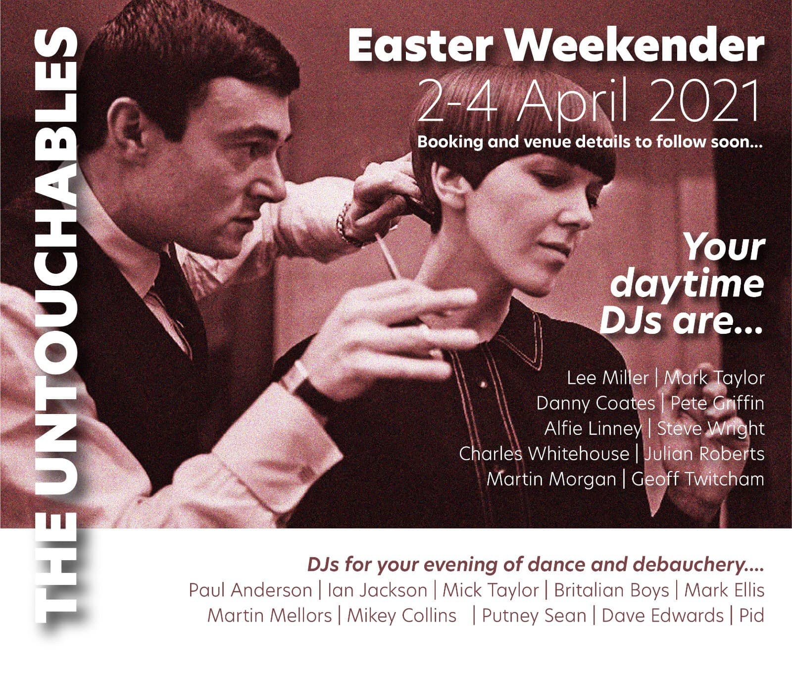The Untouchables - Mod Weekender, Easter Weekend 2021
