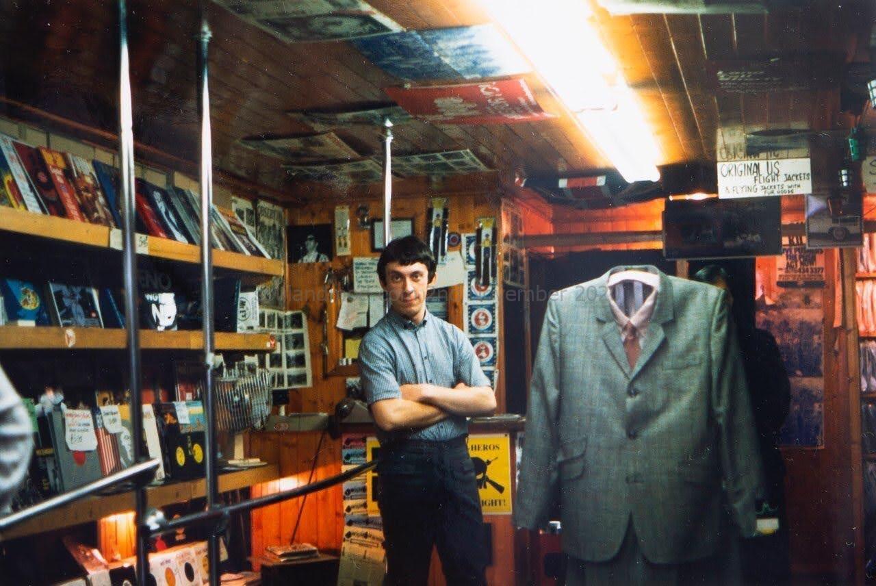 Italo Adriani - Rimini Mods - Merc London, 1985 - 1980s Italian Mod