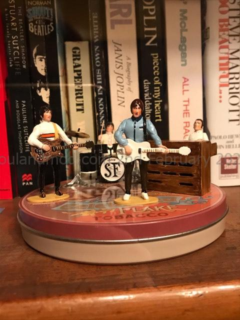 Small Faces Figurine - 1993 Paul Hallam, Terry Rawlings & George Doswell