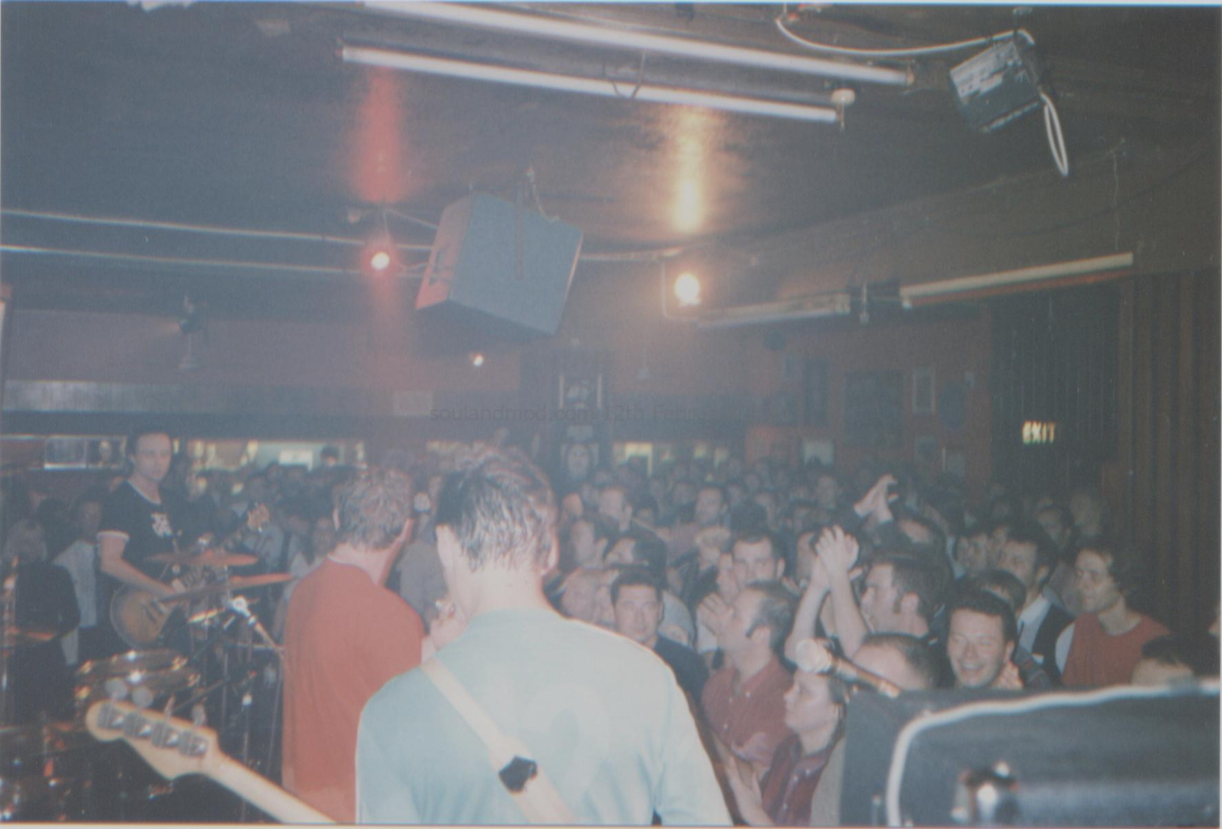 The Chords Reunion Gig - The 100 Club - 29th August 1996