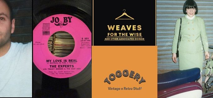 Soul & Mod Newsletter-18 March & April-2021- Paul Hallam, My Love Is Real -The Experts, Alan Handscombe, Clelia Lucchitta - Italian Mod Girl, Toggery - Maz Weller, Weaves For The Wise - Retro Vintage Shop