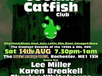 The Cookin Catfish Club 6 - DJs Lee Miller Charles Whitehouse Karen Breakell 14-08-21