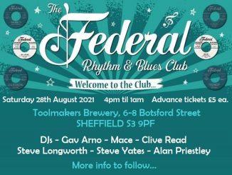 The Federal R&B Club - Sheffield Alldayer 28/08/21
